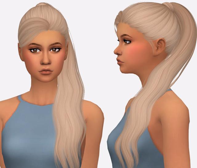 Sims 4 Nightcrawler Gigi Hair Retexture at Simista