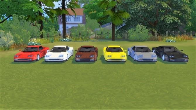 Ferrari Testarossa at LorySims image 1573 670x377 Sims 4 Updates