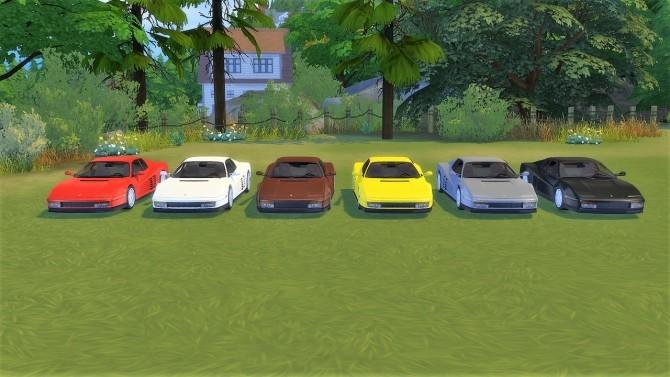Ferrari Testarossa at LorySims image 1593 670x377 Sims 4 Updates