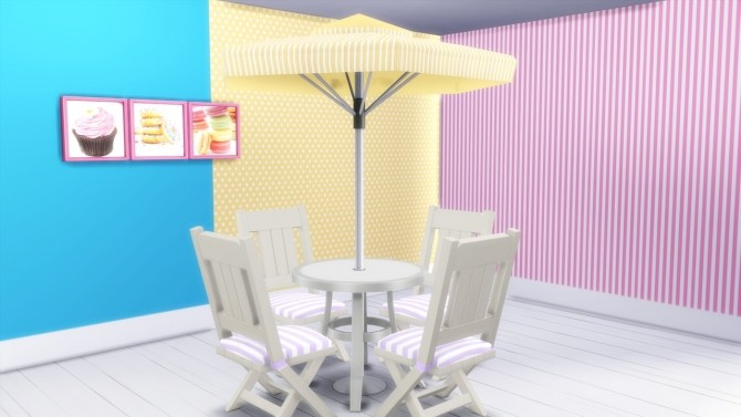 Stripes&Dots set at Simming With Mary image 1604 670x377 Sims 4 Updates