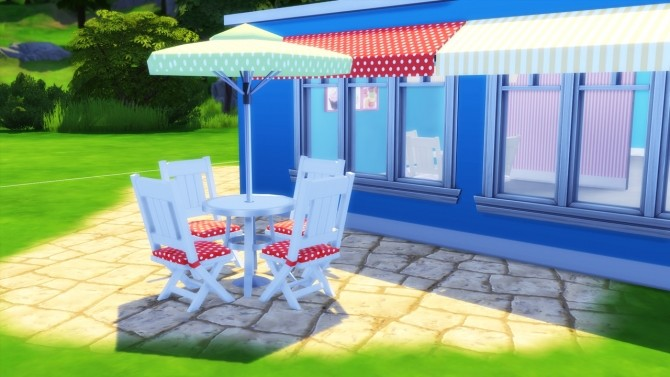 Stripes&Dots set at Simming With Mary image 16110 670x377 Sims 4 Updates