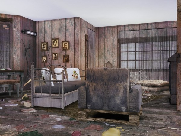 Abandoned House 2 by MychQQQ at TSR image 1614 Sims 4 Updates