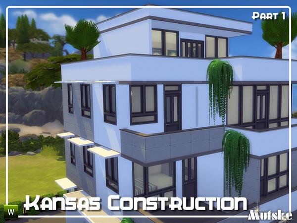 Kansas Construction set Part 1 by mutske at TSR image 1618 Sims 4 Updates