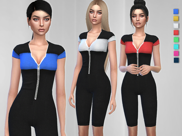 Nova Jumpsuit by Puresim at TSR image 1625 Sims 4 Updates
