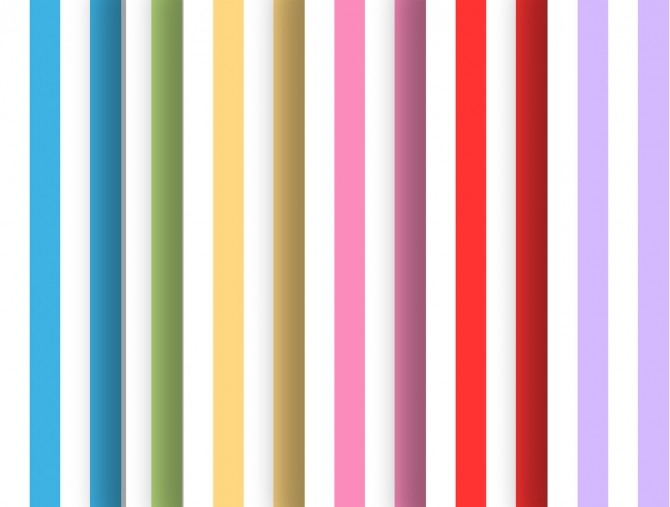 Sims 4 Stripes&Dots set at Simming With Mary