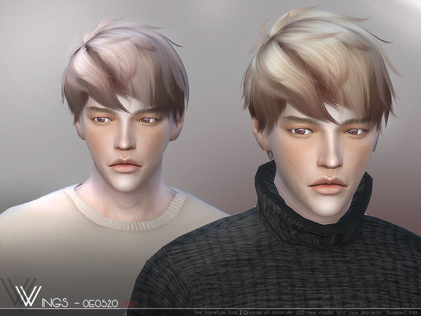 Sims 4 Hair OE0520 by wingssims at TSR