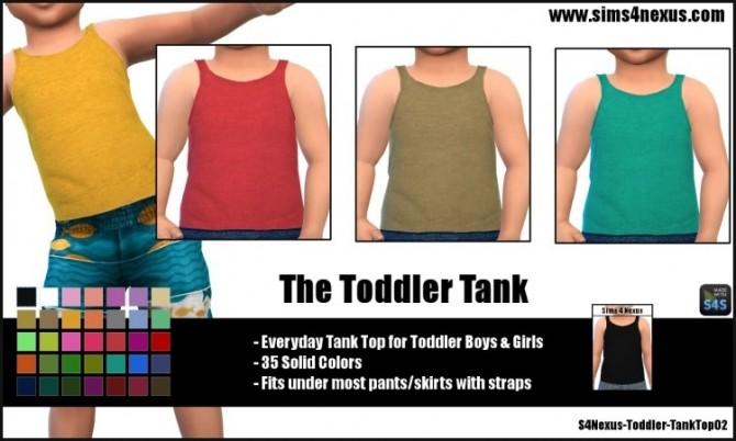 Sims 4 The Toddler Tank by SamanthaGump at Sims 4 Nexus