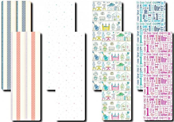 Toddler/Kids Wallpaper Set at TaTschu`s Sims4 CC image 1732 670x469 Sims 4 Updates