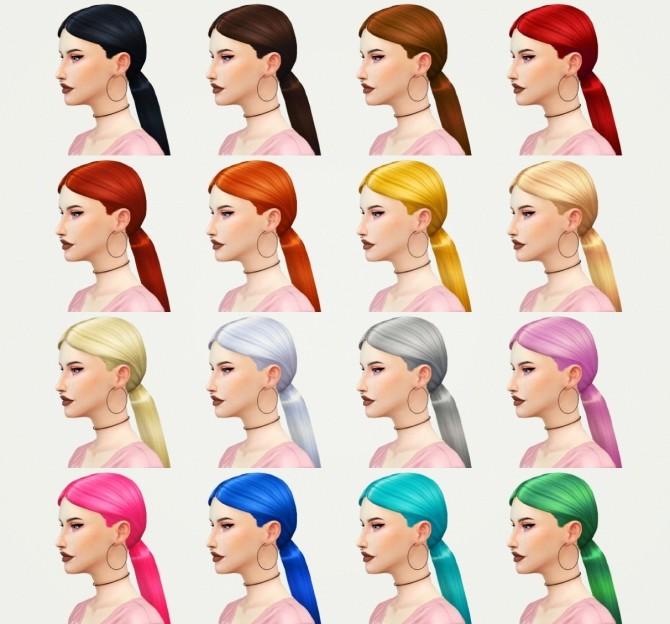 Sims 4 Arianna hair at KotCatMeow