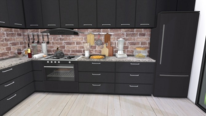 KITCHEN Townhouse at MODELSIMS4 image 1802 670x377 Sims 4 Updates