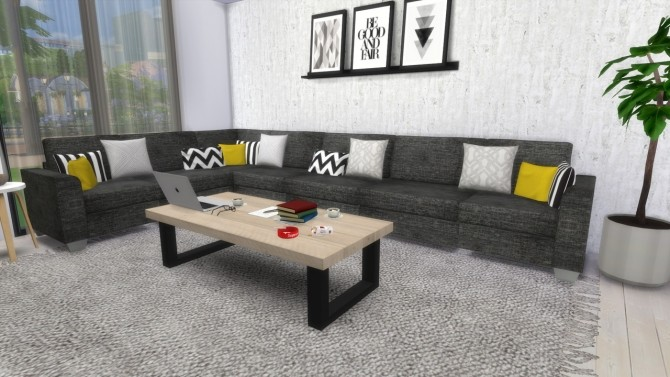 LIVINGROOM Townhouse at MODELSIMS4 image 1817 670x377 Sims 4 Updates