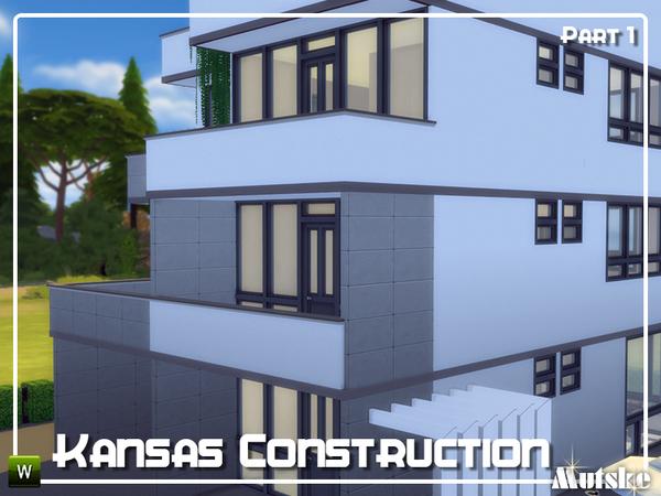 Kansas Construction set Part 1 by mutske at TSR image 1819 Sims 4 Updates