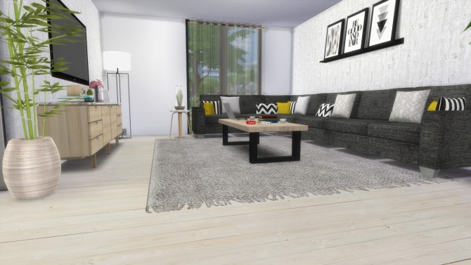 LIVINGROOM Townhouse at MODELSIMS4 image 1822 670x377 Sims 4 Updates