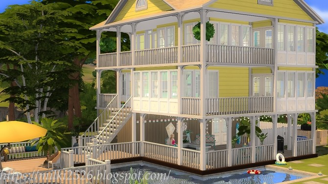 Coastal Cottage at Milki2526 image 1825 670x377 Sims 4 Updates