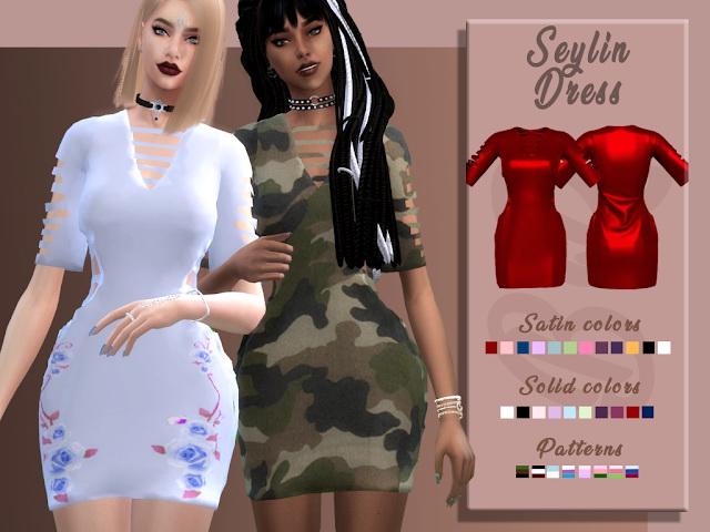 Seylin Dress by Liseth Barquero at BlueRose Sims image 1844 Sims 4 Updates