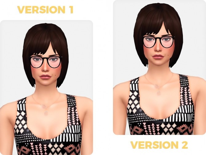 Sims 4 Cecilia Hair at Nords Sims