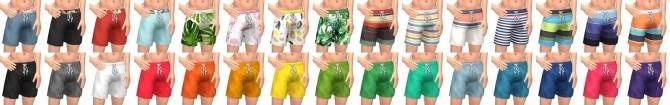 Sims 4 Beachdays: Trunks & Boardshorts at Simsational Designs