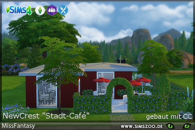 Stadt cafe by MissFantasy at Blacky's Sims Zoo image 1922 Sims 4 Updates