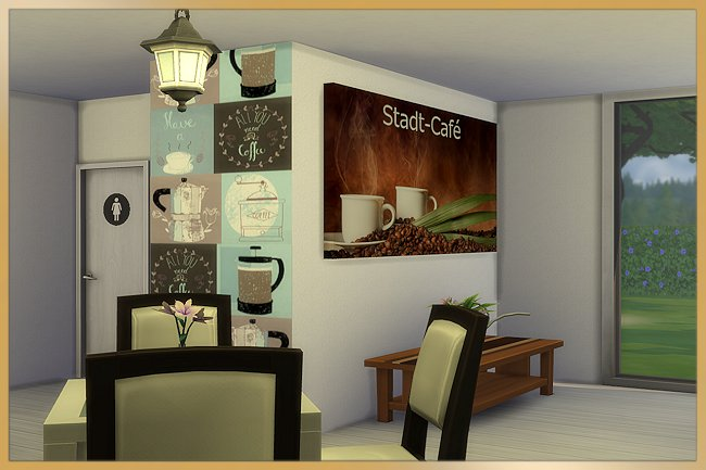 Stadt cafe by MissFantasy at Blacky's Sims Zoo image 1941 Sims 4 Updates