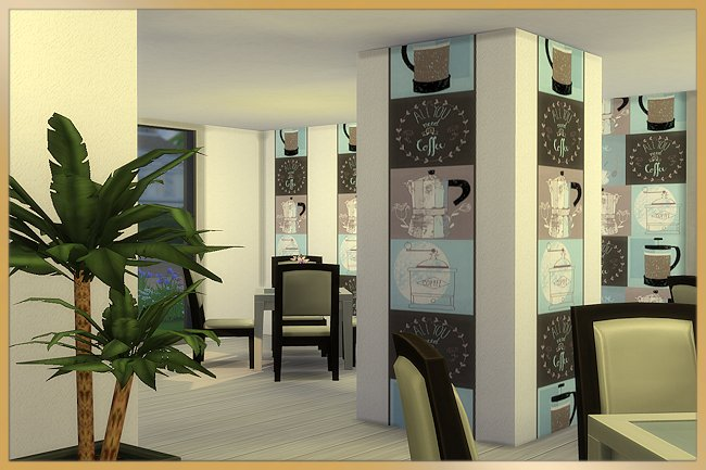 Stadt cafe by MissFantasy at Blacky's Sims Zoo image 1951 Sims 4 Updates