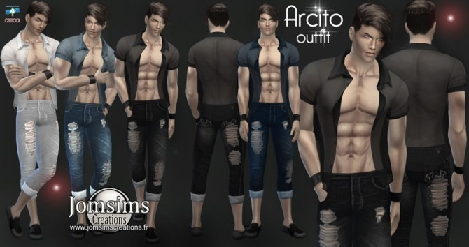 Arcito outfit at Jomsims Creations image 1961 670x354 Sims 4 Updates