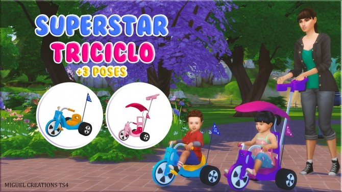 SuperStar Triciclo at Victor Miguel image 1973 670x377 Sims 4 Updates