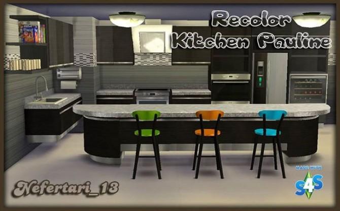 Pauline Kitchen Recolor at Nefertari 13 image 1981 670x415 Sims 4 Updates