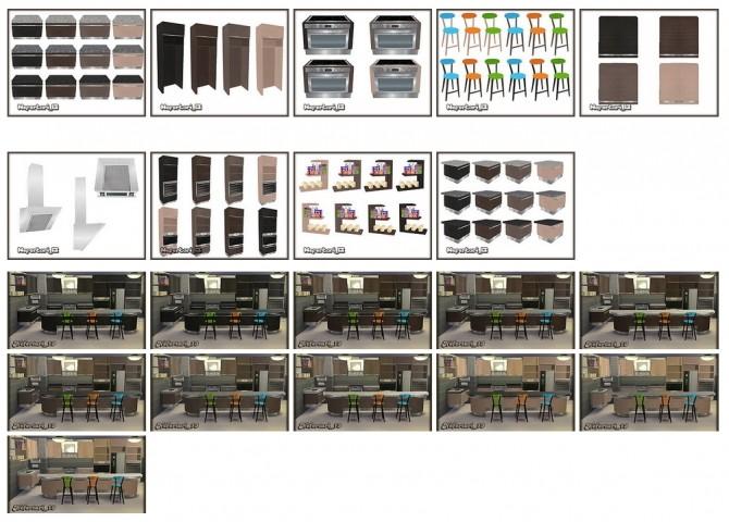 Pauline Kitchen Recolor at Nefertari 13 image 199 670x480 Sims 4 Updates