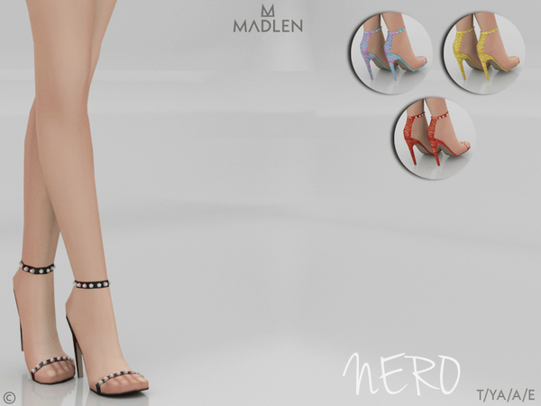 Madlen Nero Shoes by MJ95 at TSR image 2010 Sims 4 Updates