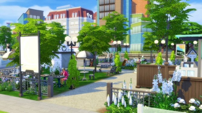 Windenburg gardens by SundaySims at Sims Artists image 2012 670x377 Sims 4 Updates