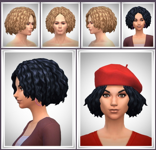 Contest WaveHair at Birksches Sims Blog image 2081 Sims 4 Updates