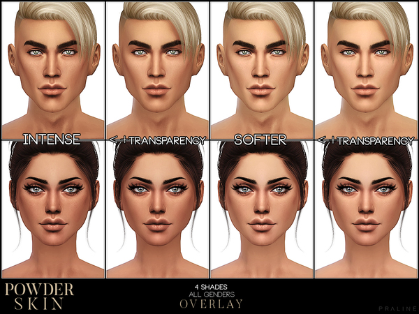 PS Powder Skin Overlay by Pralinesims at TSR image 2111 Sims 4 Updates