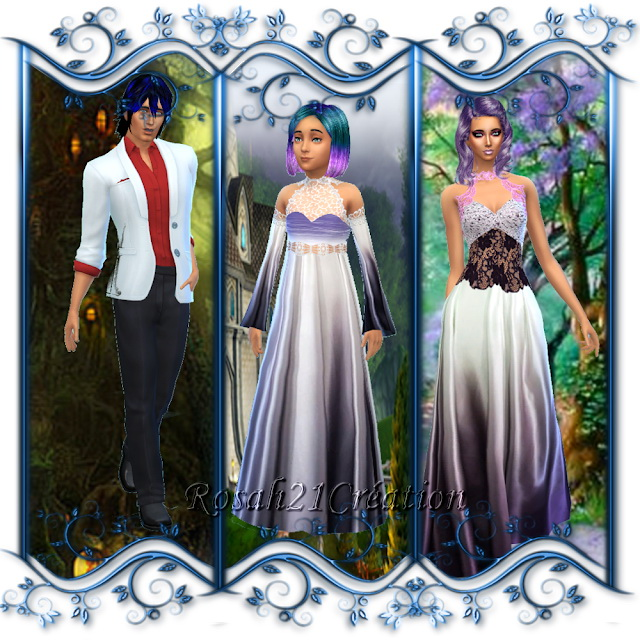 Noel family at Sims Dentelle image 2116 Sims 4 Updates