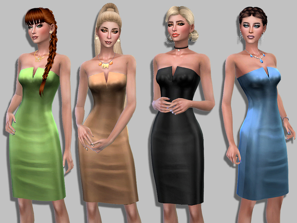 Sophie dress by Simalicious at TSR image 220 Sims 4 Updates