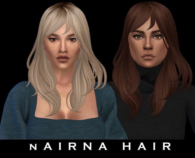 Sims 4 Nairna Hair (P) at Leo Sims
