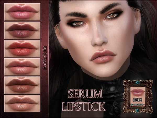 Serum Lipstick by RemusSirion at TSR image 2225 Sims 4 Updates