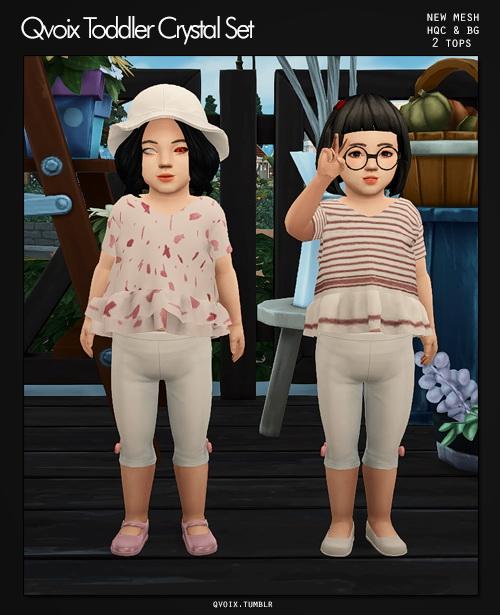 Sims 4 Crystal Set T at qvoix – escaping reality
