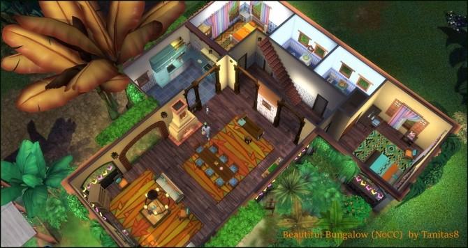 Beautiful Bungalow NoCC at Tanitas8 Sims image 2312 670x356 Sims 4 Updates