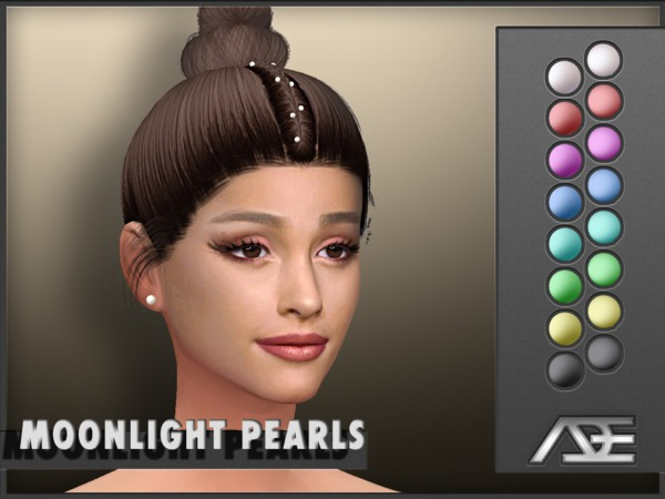 Moonlight Pearls (Acc) by Ade Darma at TSR image 2318 Sims 4 Updates