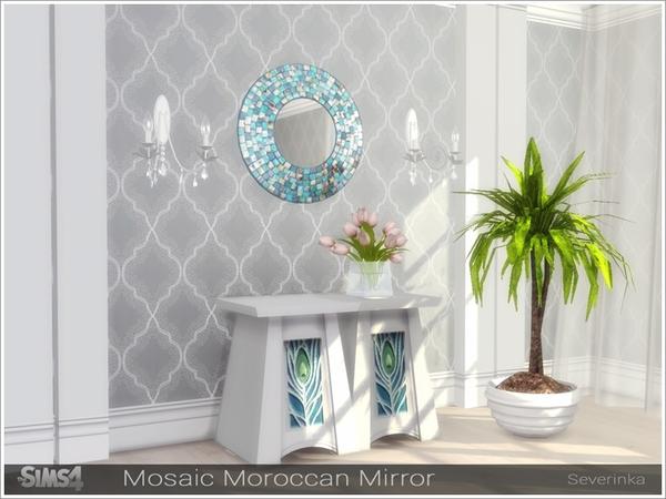Sims 4 Set of mirrors II by Severinka at TSR