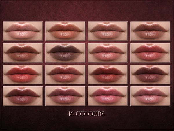 Serum Lipstick by RemusSirion at TSR image 2324 Sims 4 Updates