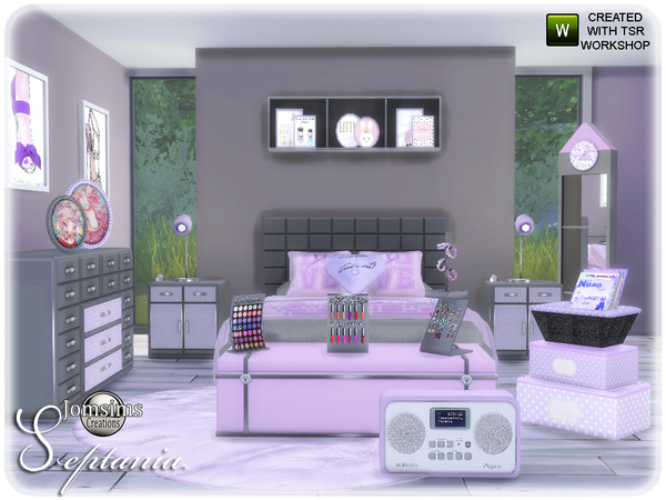Septania bedroom by jomsims at TSR image 2411 Sims 4 Updates