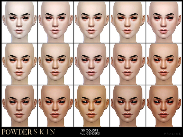 PS Powder Skin by Pralinesims at TSR image 248 Sims 4 Updates