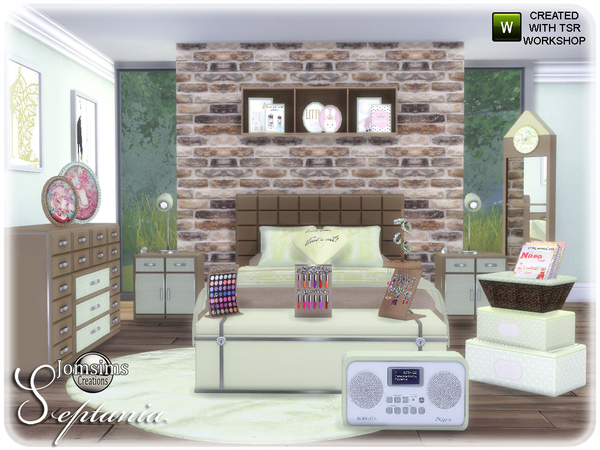 Septania bedroom by jomsims at TSR image 2511 Sims 4 Updates