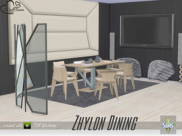 Zhylon Dining by BuffSumm at TSR image 2519 Sims 4 Updates