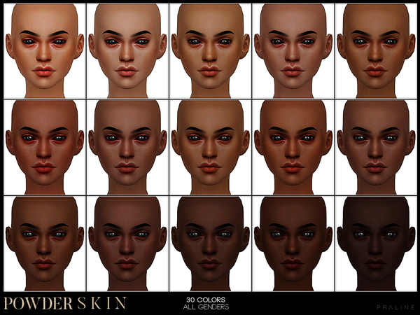 PS Powder Skin by Pralinesims at TSR image 258 Sims 4 Updates