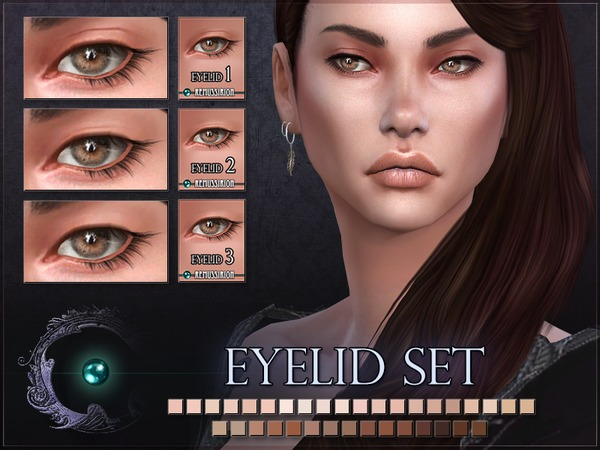 Eyelids Set 01 03 by RemusSirion at TSR image 261 Sims 4 Updates