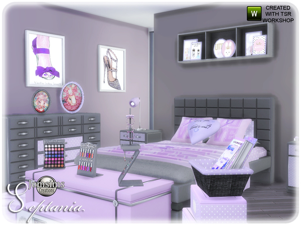 Septania bedroom by jomsims at TSR image 2611 Sims 4 Updates