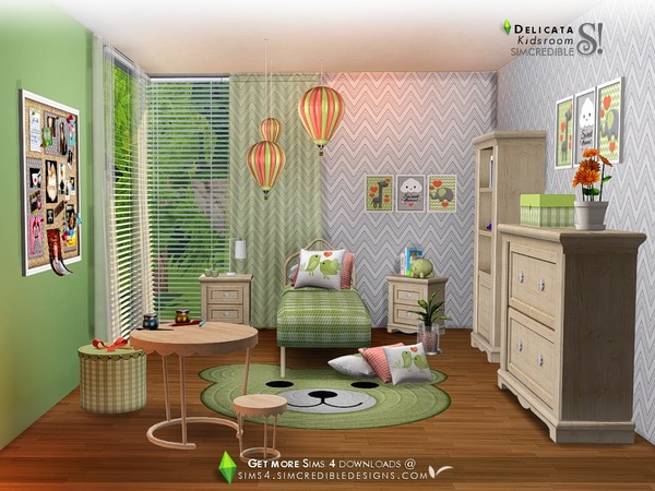 Delicata Kids room at TSR image 2620 Sims 4 Updates