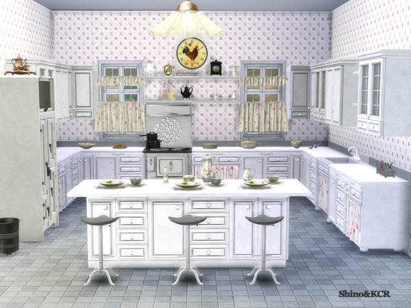 Kitchen Country by ShinoKCR at TSR image 265 Sims 4 Updates
